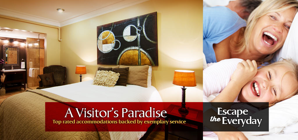 Escape the Everyday with a Visitor�s Paradise at Leaside - Top rated accommodations backed by exemplary service